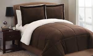 sherpa comforter set groupon goods