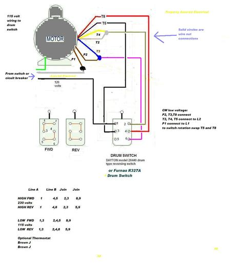 electric motor drum switch wiring diagram get free image
