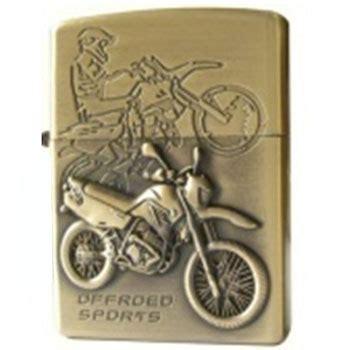 Korek Elektrik Usb Besi Motif Pistol Warna Golden korek elektrik besi motif motor sport golden