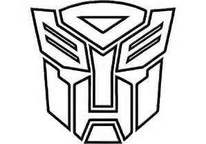 Autobot Symbol Colouring Pages sketch template