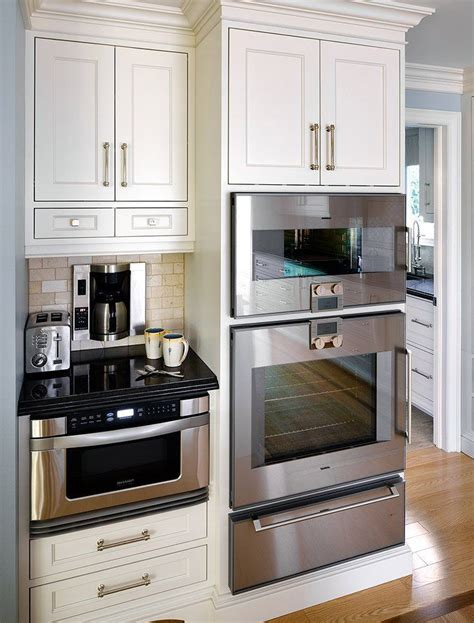 Oven Cabinet Design by Best 25 Microwave Drawer Ideas On Kitchen
