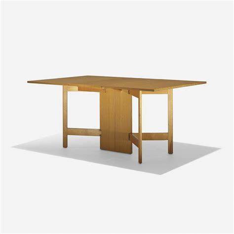 10 Trending Dining Table Models You Should Try 444 George Nelson Associates Gate Leg Dining Table Model 4656