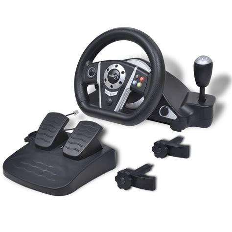 volante pc ps3 articoli per volante gioco di corsa per ps2 ps3 pc nero