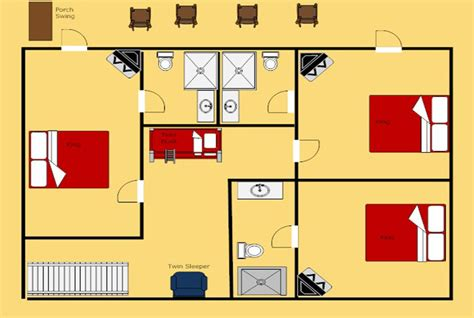 layout of the hill house king of the hill gatlinburg cabin king of the hill 5 bedroom sleeps