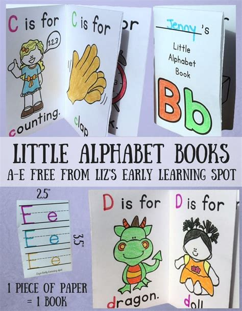 printable alphabet books for kindergarten 1061 best slp phonological awareness freebies images on