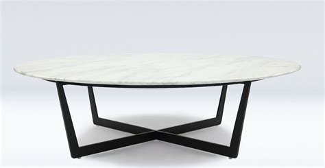 Table Basse Ronde Marbre by Table Basse Ronde Design En Marbre Blanc Et M 233 Tal Noir