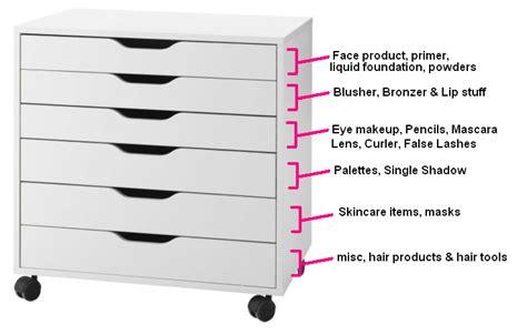 fab finds tips makeup organization storage ideas