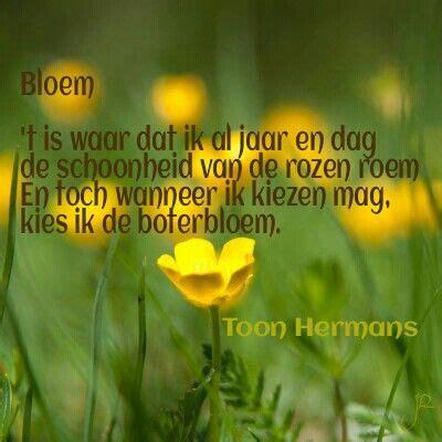 gedicht toon hermans bloem toon hermans zeg het met bloemen pinterest