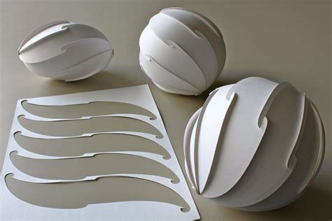 How To Make Sphere Out Of Paper - 13 best photos of paper cut out sphere 3d sphere cut out