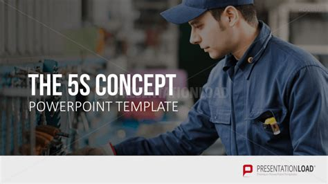 5s Concept Powerpoint Template 5s Powerpoint Template