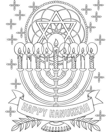 hanukkah 2015 coloring pages printable happy hanukkah menorah coloring page crayola com