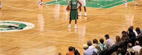 Boston Celtics Parquet Floor   Slaughterbeck Floors, Inc.