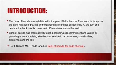bank of baroda ifsc code ppt ifsc code bank of baroda powerpoint presentation
