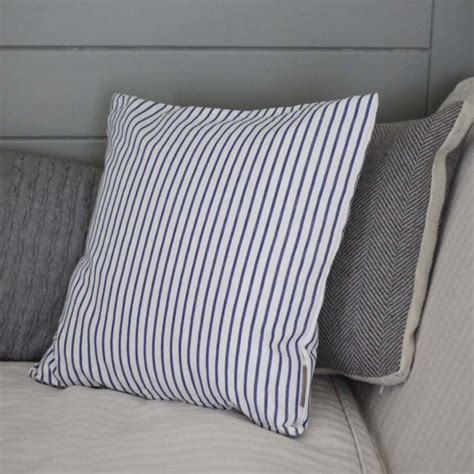 blue and white striped slipcovers striped blue and white cushion cover furnishings