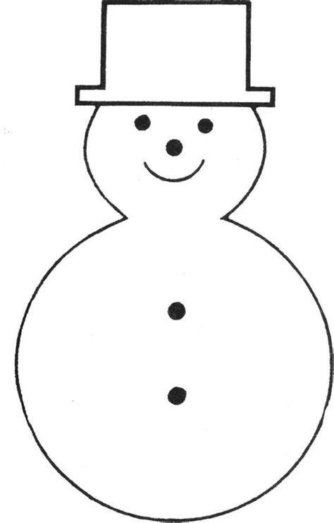printable snowman face stencil free printable snowman template bonhommes de neige