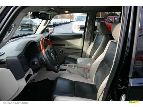 Jeep Commander Interior Lights by Slate Gray Light Graystone Interior 2007 Jeep