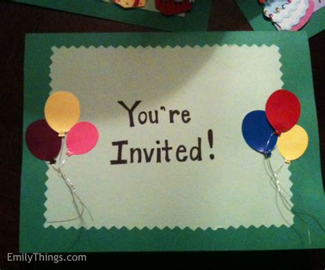 how to make birthday invitation cards for pop up birthday card emily s enchantments