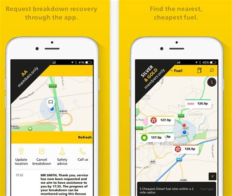 aa app for android top 5 uk petrol and diesel price comparison apps for android and ios