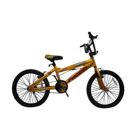 jual pacific viroso 200 sepeda bmx gold 20 inch