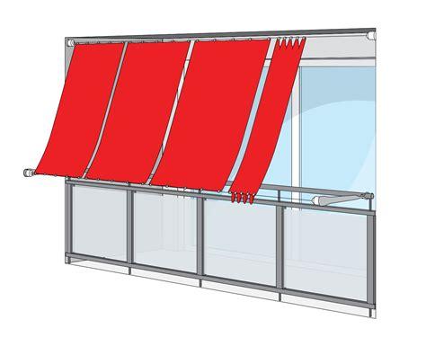markise senkrecht balkon anleitung zum messen zur montage und bedienung