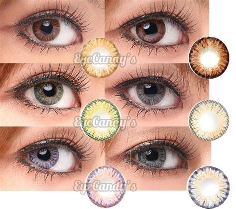 light blue color contacts for dark eyes neo vision princess series circle contact lenses have a