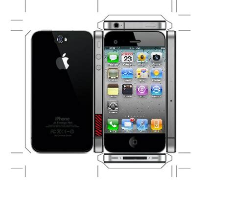 How To Make An Iphone Out Of Paper - iphone 5 template horseshowch s