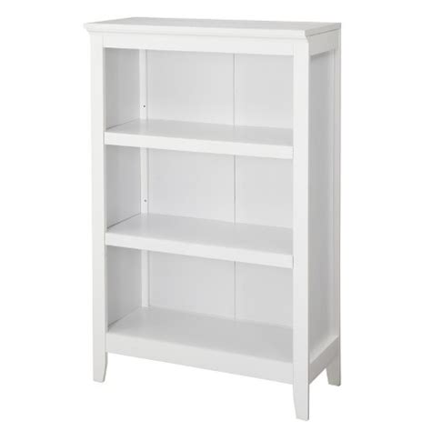 Carson 3 Shelf Bookcase Threshold Target Target White Bookcase