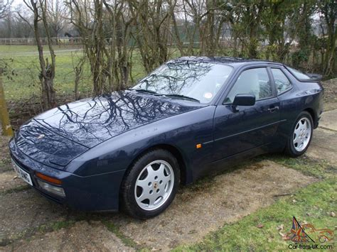 porsche 944 blue porsche 944 s2 1989 dark blue full psh excellent condition