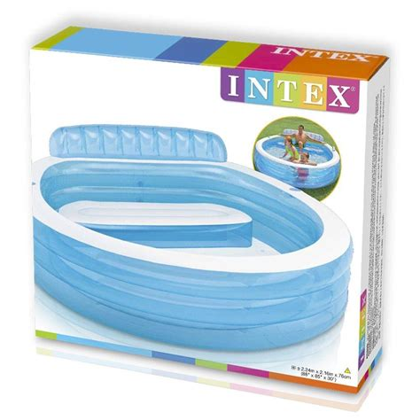 intex pool with seats intex swim centre family lounge large paddling