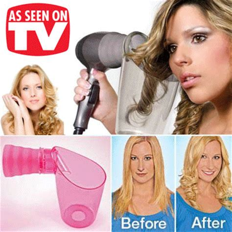 Hair Dryer To Fix Tv qoo10 as seen on tv air curler hair dryer attachment curling styling beaut hair