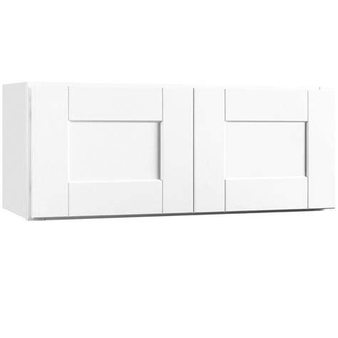 assembled 30x12x12 in wall bridge kitchen cabinet in hton bay shaker assembled 30x12x12 in wall bridge