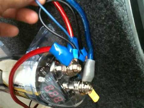 capacitor para estereo como instalar lificador y capacitor en su casa