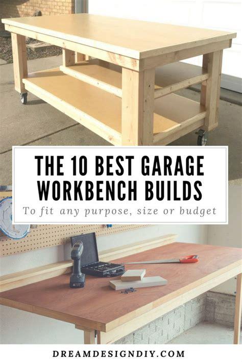 garage workbench builds building  workbench