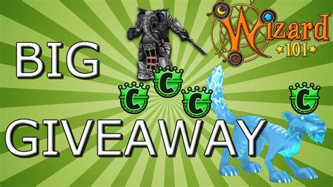 Wizard101 Giveaway - wizard101 giveaway 2 youtube