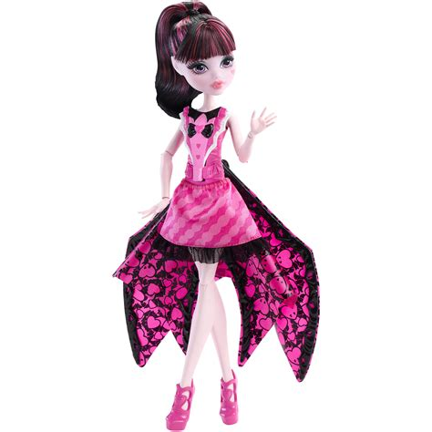 doll bat high ghoul to bat transformation draculaura doll