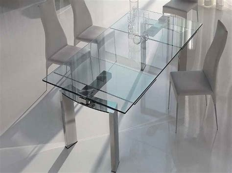 glass kitchen tables for small spaces expandable dining tables for small spaces home interior