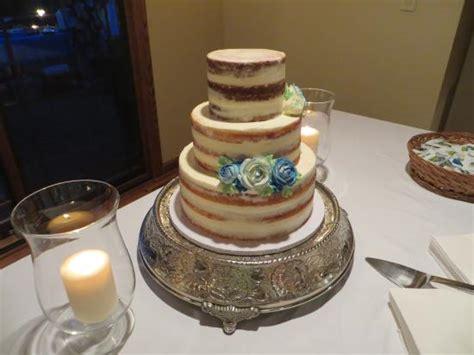 angel food wedding cake idea   bella wedding