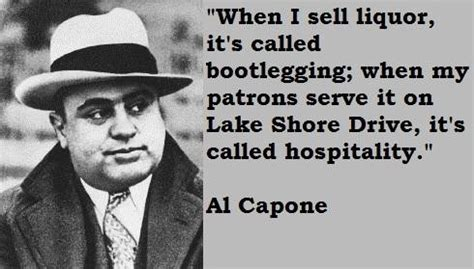 Famous Quotes by Al Capone - Crime in the 20's