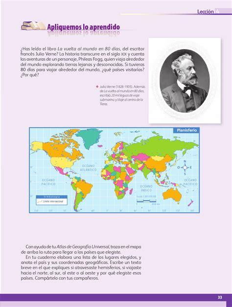 mapa de geografia de 5 grado mapa de geografia de 5 grado geograf 237 a 5to grado by