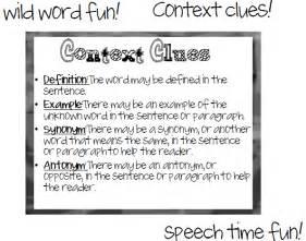 wild word fun context clues
