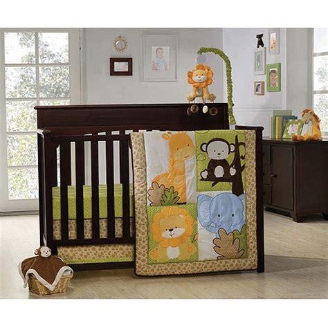 graco happy safari 4pc crib bedding set value bundle