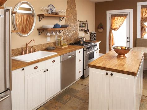 rustic butcher block countertops photos hgtv