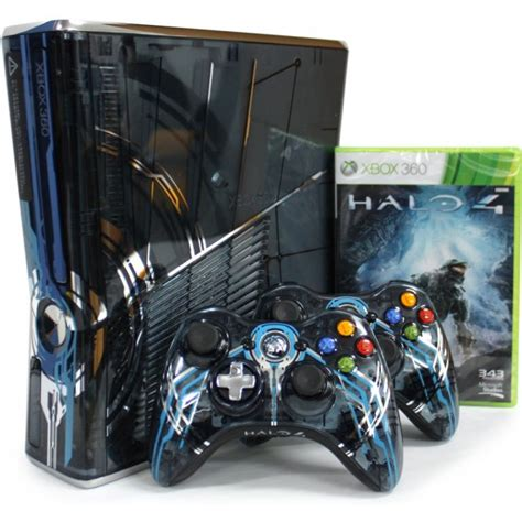 halo 4 console xbox 360 slim console 320gb halo 4 limited edition
