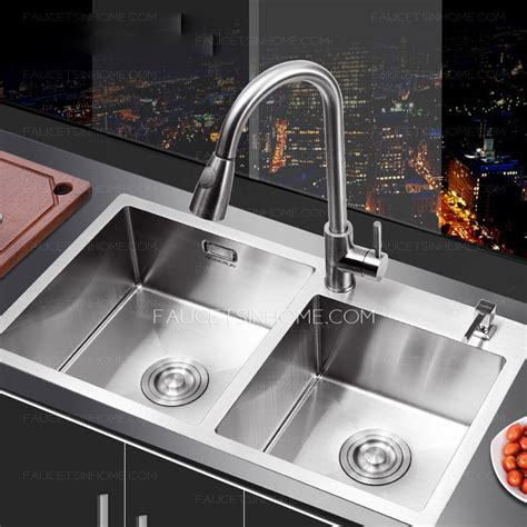 double sinks for kitchens double sinks stainless steel kitchen sinks with faucet