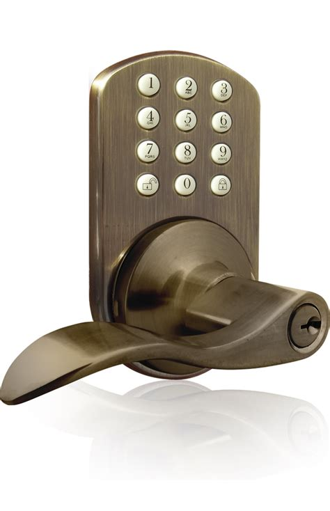 Electronic Keypad Door Lock by Milocks Tkl 02 Keyless Entry Lever Handle Door Lock With