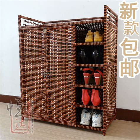 wicker shoe storage popular wicker storage cabinets buy cheap wicker storage