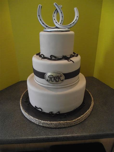 1000 images about western wedding cakes on