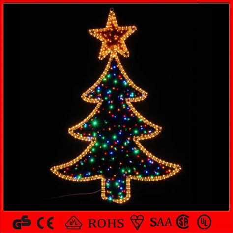 china holiday 2d led christmas figures decorative