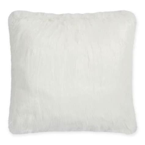 bed bath and beyond feather pillow buy faux fur pillows from bed bath beyond