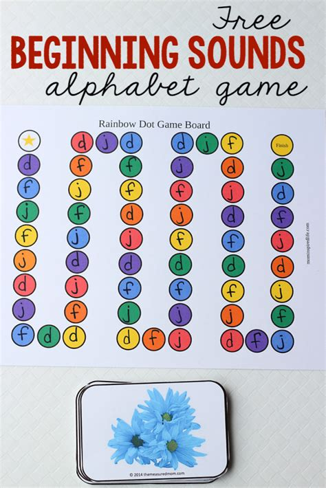 letters  sounds game  printable   day teaching letter sounds teaching